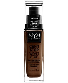 Can't Stop Won't Stop Full Coverage Foundation, 1-oz.
