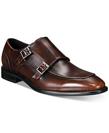 Alfani Men's Alfatech Barnes Double-Monk Shoes, Created for Macy's
