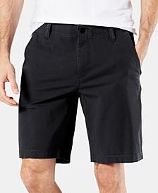 "Straight Fit Chino Smart 360 Flex 4-way Stretch 9.5"" Shorts"