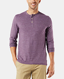Dockers Men's Alpha Henley Shirt
