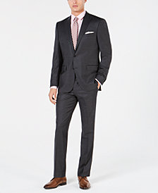 Kenneth Cole New York Men's Flannel Performance Suit