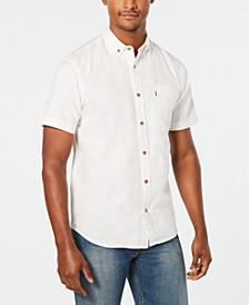 Men's Short-Sleeve Pocket Oxford Shirt