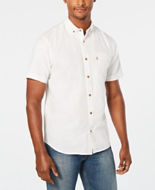 Levi's® Men's Short-Sleeve Pocket Oxford Shirt