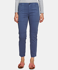 1.STATE Utility-Pocket Straight-Leg Pants