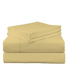 Pointehaven Luxury Weight Flannel Sheet Set Cal King