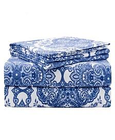 Pointehaven Luxury Weight Flannel Sheet Set Twin