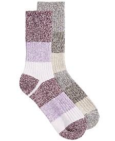 Columbia Women's 2-Pk. Super-Soft Crew Socks