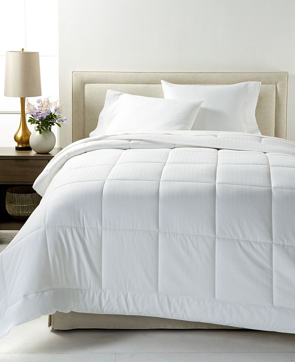Charter Club Down Alternative Super Luxe 300-Thread Count Twin Comforter, Created for Macy's