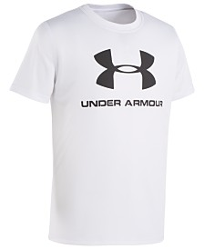 Under Armour Big Boys Logo-Print Rash Guard