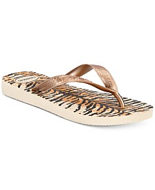 Havaianas Women's Top Animal Flip-Flop Sandals, Created For Macy's