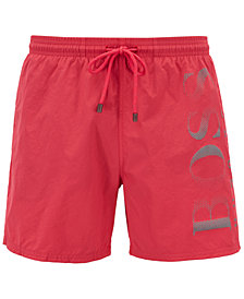 BOSS Men's Logo Swim Trunks