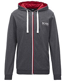 BOSS Men's Full-Zip Cotton Jacket