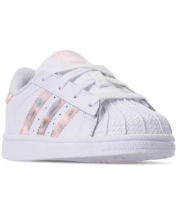 adidas Toddler Girls' Superstar Sneakers from Finish Line ...