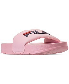 Fila Women's Drifter Slide Sandals from Finish Line