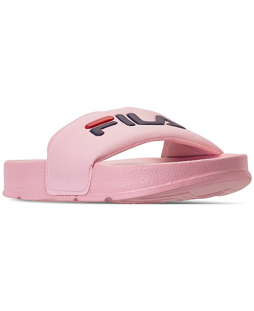 c9e6e3db8c86 Fila Women s Drifter Slide Sandals from Finish Line   Reviews ...
