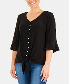 Ny Collection Womens Tops Macy S