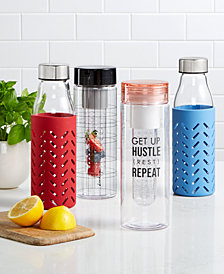 The Cellar Hydration Bottles Open Stock Collection, Created for Macy's