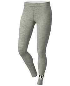Nike Plus Size Sportswear Print-Logo Leggings