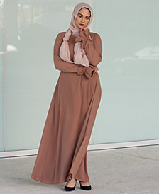 Verona Collection Elisa Ruffle-Sleeve Maxi Dress