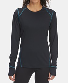 EMS® Women's Techwick Moisture-Wicking Performance Lightweight Base Layer Top