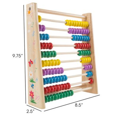 Wooden Abacus Learning And Educational Toy By Hey Play