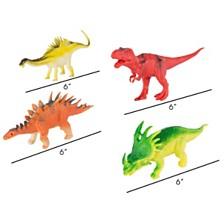 Toy Dinosaur Figure - Set 10 Pack By Hey Play