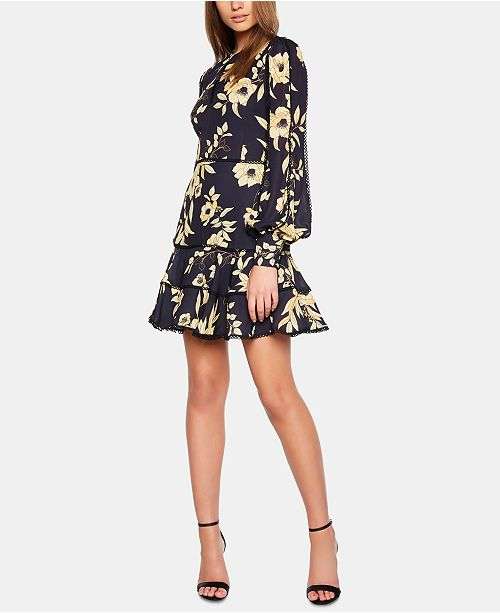 179ba3138938c Bardot Grace Floral Fit & Flare Dress & Reviews - Dresses - Women ...