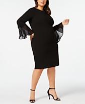 a48b440c52bf Calvin Klein Plus Size Dresses  Shop Calvin Klein Plus Size Dresses ...