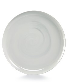 Hotel Collection Modern Marble Dinner Plate, Created for Macy's
