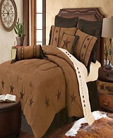 LaRedo Comforter Set, Super Queen Tan