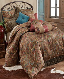 San Angelo 4-Pc. Super King Comforter Set, Leopard