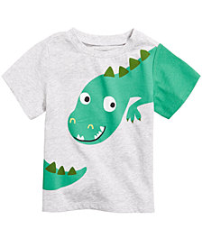 First Impressions Baby Boys Dinosaur-Print T-Shirt, Created for Macy's