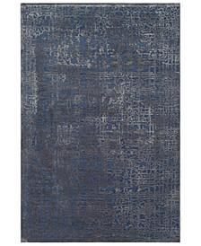 "Aesop ASP-2320 Dark Blue 6'7"" x 9'6"" Area Rug"