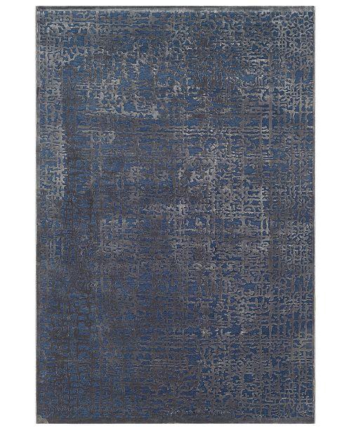 "Surya Aesop ASP-2320 Dark Blue 7'10"" x 10'4"" Area Rug"