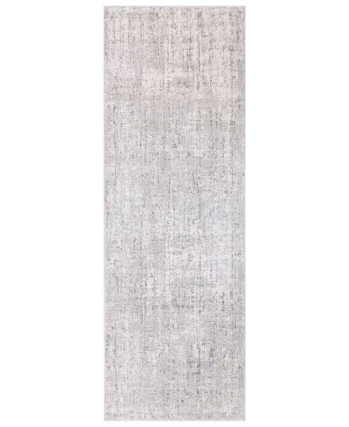 """Surya Aisha AIS-2305 Light Gray 2'7"""" x 7'7"""" Runner Area Rug"""