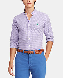 Polo Ralph Lauren Men's Classic Fit Stretch Poplin Shirt