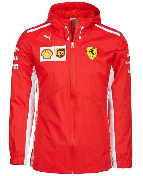 Puma Men's Ferrari Hooded Jacket