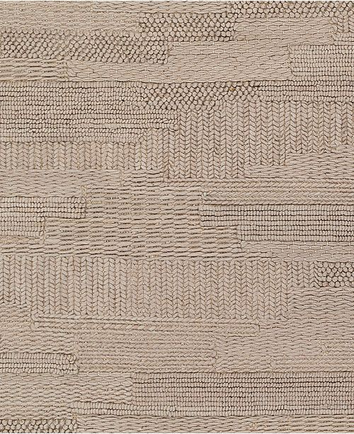 """Surya Cocoon CCN-1002 Taupe 18"""" Square Swatch"""