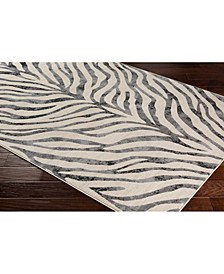 """City CIT-2300 Taupe 18"""" Area Rug Swatch"""