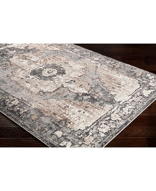 """Surya Chelsea CSA-2304 Charcoal 18"""" Square Swatch"""
