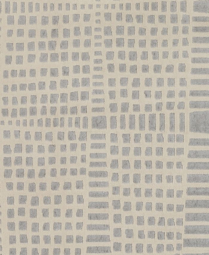 "Abbie & Allie Rugs - City CIT-2320 Light Gray 18"" Square Swatch"