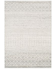 "Elaziz ELZ-2308 Light Gray 6'7"" x 9' Area Rug"