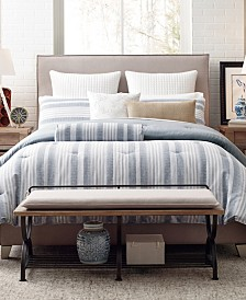 Rachael Ray Home Mulberry Stripe Queen Comforter Set