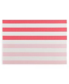 """kate spade new york Springtime PVC Pink 13"""" x 19"""" Placemat"""
