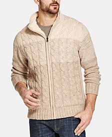 Weatherproof Vintage Men's  Sweater Jacket, Created for Macy's