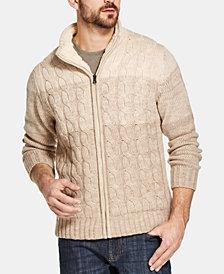 Weatherproof Vintage Men's  Sweater Jacket, Created for Macy's