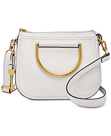 Fossil Ryder Leather Top Handle Crossbody