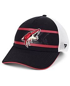 Authentic NHL Headwear Arizona Coyotes 2nd Season Trucker Adjustable Snapback Cap
