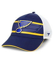 20f6328fe46 Authentic NHL Headwear St. Louis Blues 2nd Season Trucker Adjustable  Snapback Cap