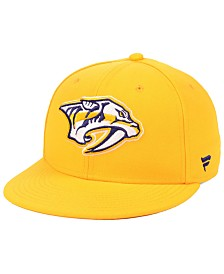 Authentic NHL Headwear Nashville Predators Basic Fan Fitted Cap